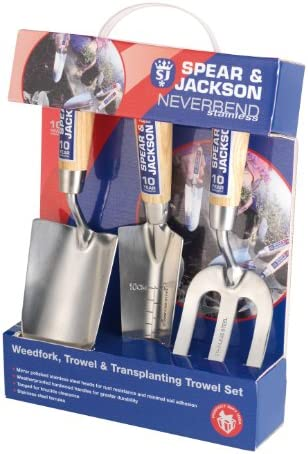 Spear Jackson 3056GS 12 3-Piece Never Bend Stainless Steel Gift Set