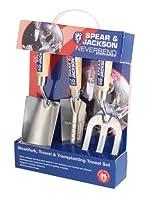 Spear & Jackson 3056GS/12 Neverbend Edelstahl 3-teilig Geschenkset