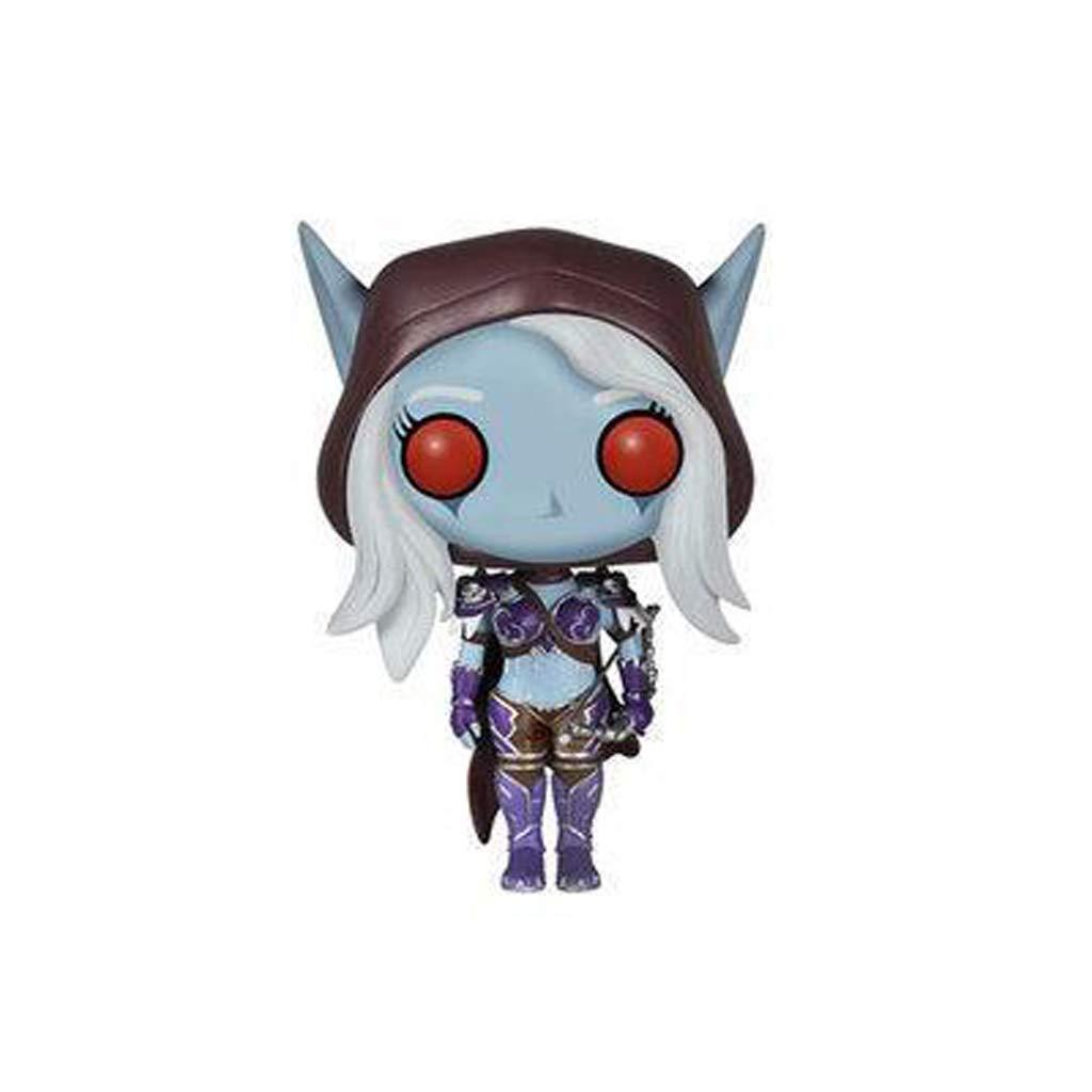 YIFNJCG World of Warcraft Wow Juego Mano Oficina F-unko Pop Mano Oficina Mano Modelo Decoración Juguete Regalo Artesanía Mini Juguete Regalo navideño (12CM)