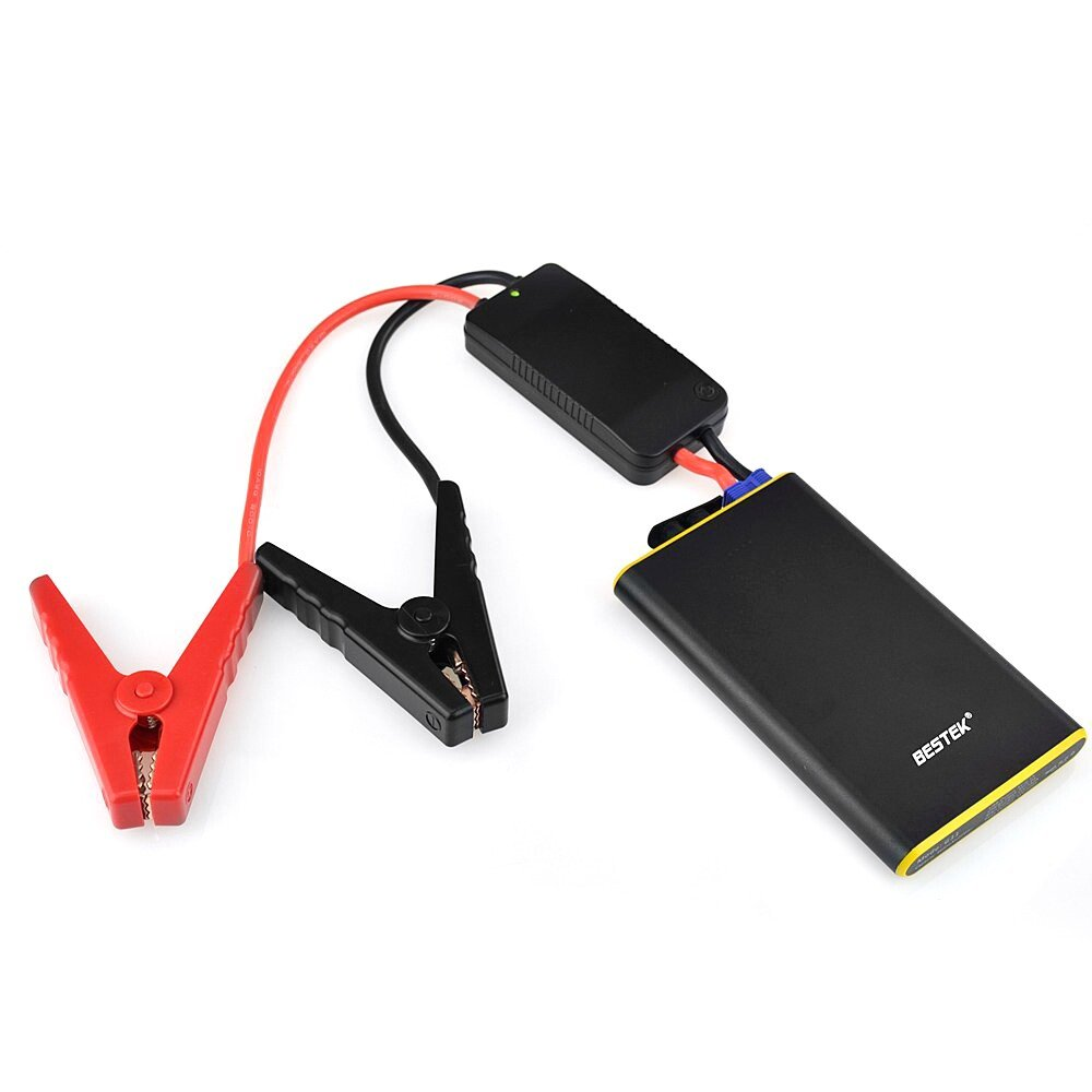 BESTEK Car Jump Starter, 300A Peak 5600mAh 2-in-1 Portable Auto Battery Booster & Phone Power Bank