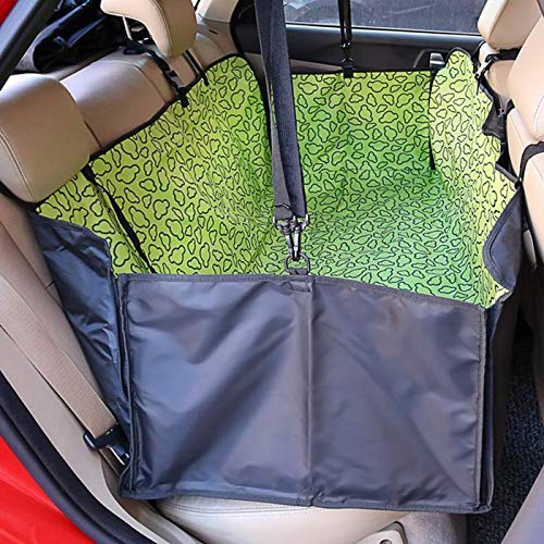 45ac9f3f496d TruePartner Fabric Paw Pattern Car Pet Seat Cover Dog Car- Back Seat  Carrier Waterproof Pet Mat Hammock Cushion Protector (13015038)