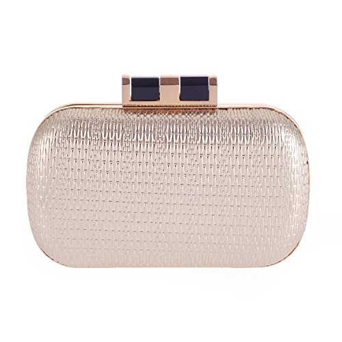 Supply shouldr evening bag hard shell evening Wallets bag party clutch Handbags Silver ZnYxd0twq