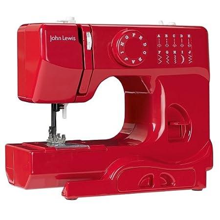 John Lewis Mini Sewing Machine Red Amazoncouk Kitchen Home Mesmerizing John Lewis Sewing Machine Amazon