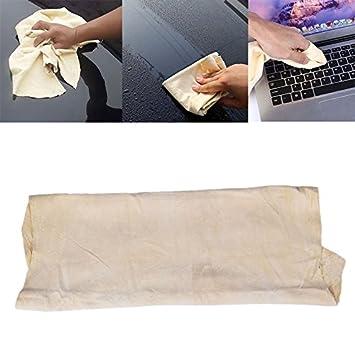 Sedeta® Toallas de cuero de gamuza gamuza Toalla de limpieza del vehículo del coche Lave el paño seco absorbente: Amazon.es: Coche y moto