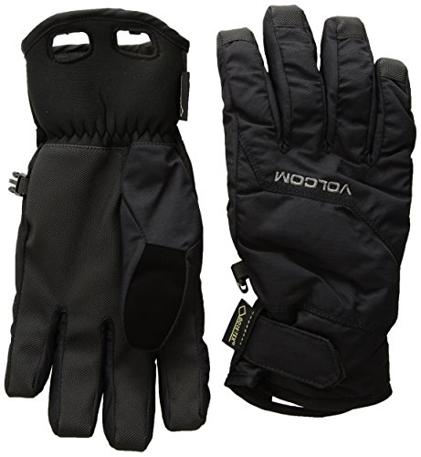Gore Tex Insulated Gloves - Volcom Men's Cp2 Gore-Tex Glove, Black, XL