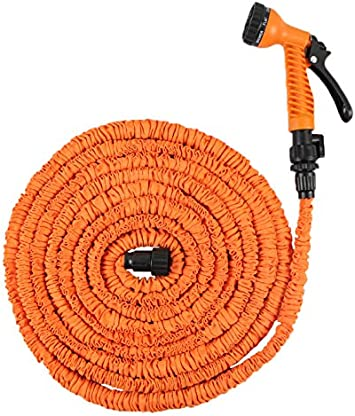 30 M aguamarina GART manguera flexible manguera de jardín flexible de manguera de la manguera de agua: Amazon.es: Bricolaje y herramientas
