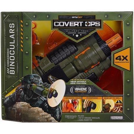 Gear Covert Spy (SpyNet Covert Ops Binoculars with Long Range Mic)