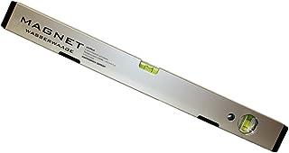 Messtoleranz: 0,5mm//m Aluwasserwaage Aluminiumwasserwaage rot lackiert L/änge: 150cm 1,5m DEWEPRO/® Profi Wasserwaage Aluminium