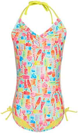 2630e5e2dd5 6 to 16 Years Sports & Outdoors BELLOO Big Kids Girls Halter Swimwear  Bathing Suits One Piece ...