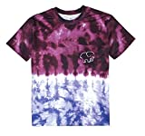 Betti Charm Womens Gradient Color Tie Dye Elephant Pocket T-shirt (S)