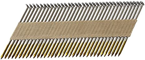 Plastic Strip Metabo HPT Framing Nails 2000 Count, 10166MHPT Hot Dipped Galvanized 3-1//4 x .120 Full Round Head