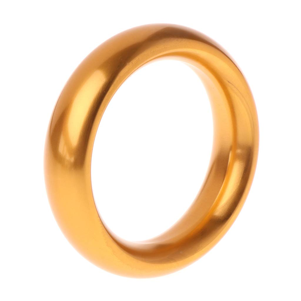 Maeic Aluminum Alloy Gold 45mm Metal Ring for Men