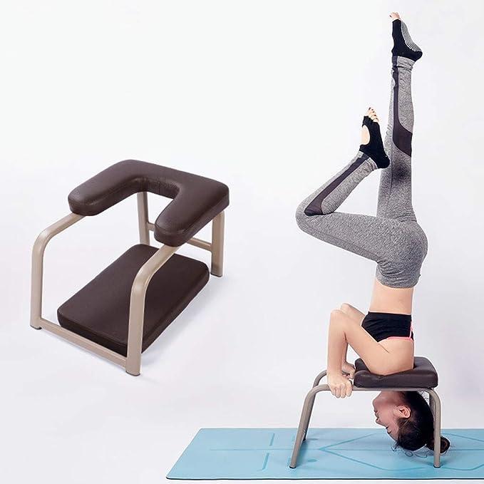 Amazon.com: Banco de yoga con reposacabezas, banco de cuerpo ...