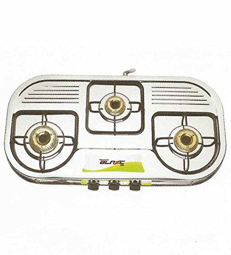 a30411e84a8 BUTTERFLY BLAZE 3 BURNER STAINLESS STEEL  Amazon.in  Shoes   Handbags