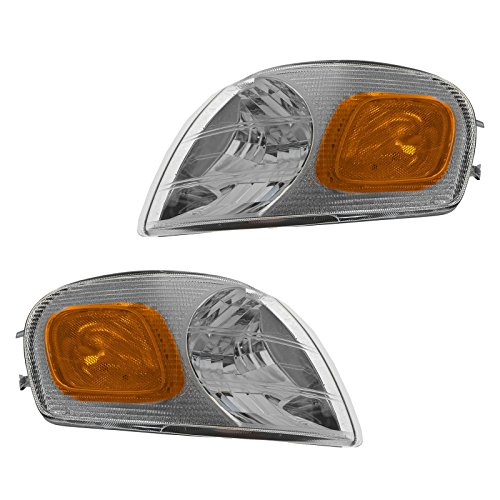 Parking Corner Side Marker Turn Signal Lamp Light Front Pair Set for Venture (Turn Montana Signal)