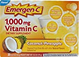Cheap Emergen-C Original Formula – 1000 mg Vitamin C – Coconut Pineapple – 30 Packets