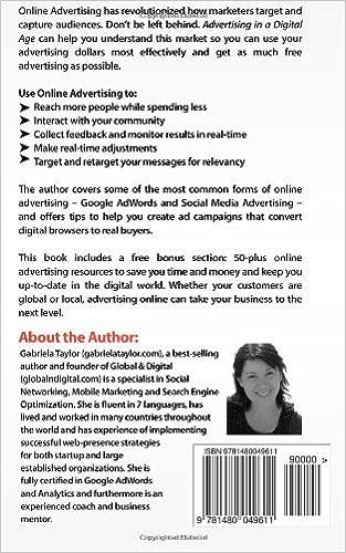 Advertising In A Digital Age: Gabriela Taylor: 9781480049611