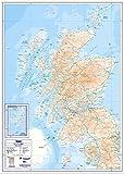 Compact Map - Scotland A1 - Standard Matt Paper