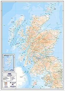 compact map scotland a1 standard matt paper