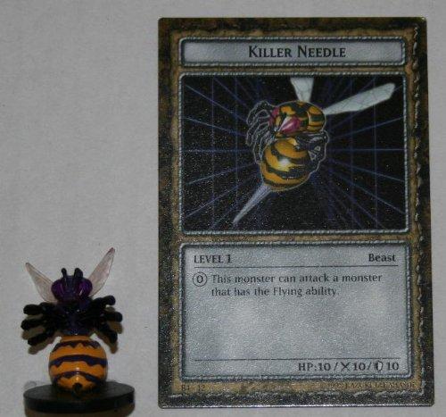Killer Needle (B4-12 Killer Needle Yugioh Level 1 DungeonDice Series 4 Iron Guardians English Dungeon Dice Single Figure and Card)