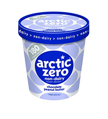 6 Pack, Arctic Zero Chocolate Peanut Butter Pint (Best Arctic Zero Ice Cream Flavors)
