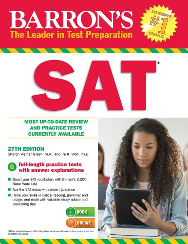 Barron's SAT (27th 2014) [Green & Wolf]