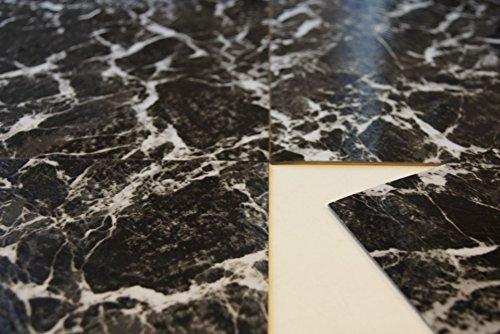 Piastrelle per pavimento in vinile effetto marmo adesive
