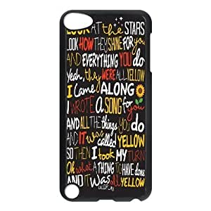 Personalized Coldplay Lyrics Ipod Touch 5 Case, Coldplay Lyrics Customized Case for iPod Touch5 at Lzzcase
