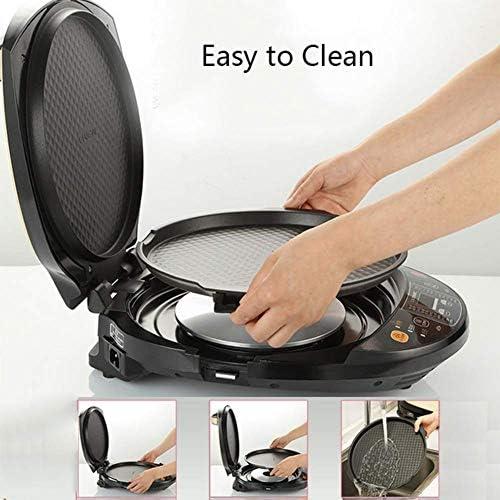 Sweet Home Plaque de Cuisson électrique Intelligent Amovible Multifonction Double Face Outils de Cuisson Antiadhésif Pancake Maker Déplier Machine grillée Machine à Petit déjeuner