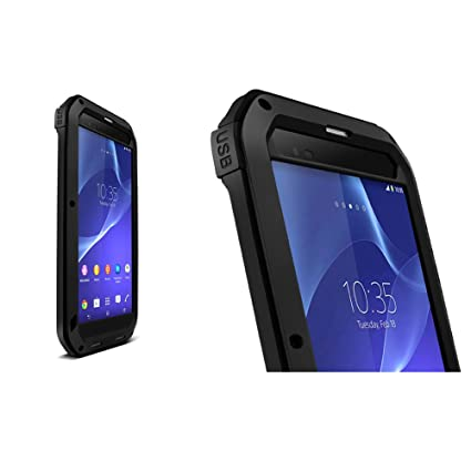 best authentic c7e14 2f23d Aluminum Case for Sony Xperia T2 Ultra, LOVE MEI Brand Metal ...