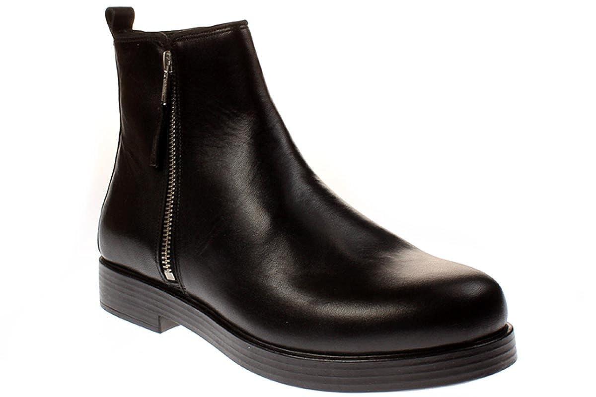 TEN POINTS Isabella 204013 - Damen Schuhe Stieflette Chelsea Stiefel - 101schwarz