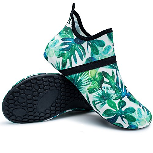 for Mid Shoes Unisex Beach RUN Swim Yoga green Dive Skin Barefoot Shoes Water Run L Surf qCS0Fx4x