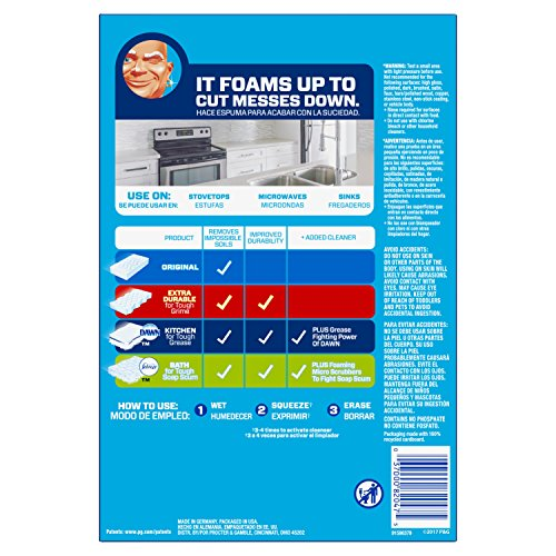 Mr Clean Magic Eraser Kitchen Cleaning Pads With