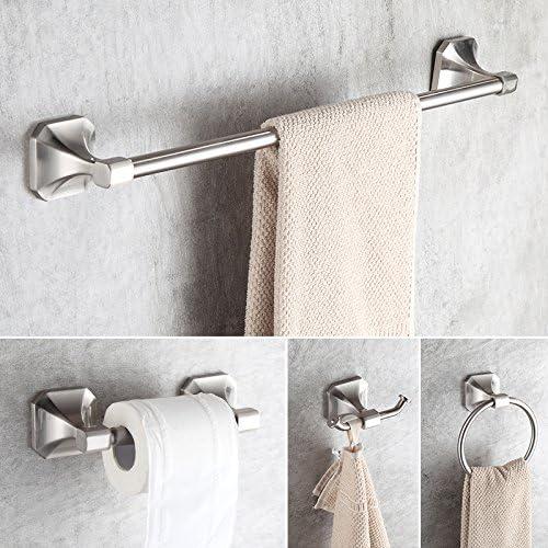 Dowell 4-Piece Bathroom Accessory Kit  Brush Nickel 1004 41