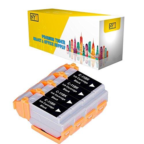 New York Toner New Compatible 4 Pack BCI-11BK Black High Yield Inkjet For - BJCAN-70 . -- - Inkjet 11bk Bci
