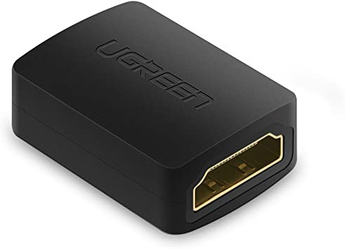 UGREEN Acoplador HDMI Alargador Hembra a Hembra Soporte 4K*2K@60HZ Compatible con 3D y ARC Extender Cable HDMI para Chromecast, Fire TV Stick, Xbox etc.(1 Pack): Amazon.es: Electrónica