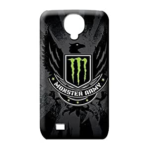 samsung galaxy s4 Classic shell Shockproof phone Hard Cases With Fashion Design phone carrying shells monster army logo