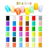 36 Pack Bright Colors Air Dry Clay Kit Ultra