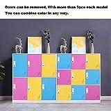 Steel Office Locker Cabinet with Keys, School and