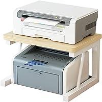 Print Racks Desktop Printer Shelves Wooden Storage Rack Office Table Organizer Household Multifunction Storage Rack…