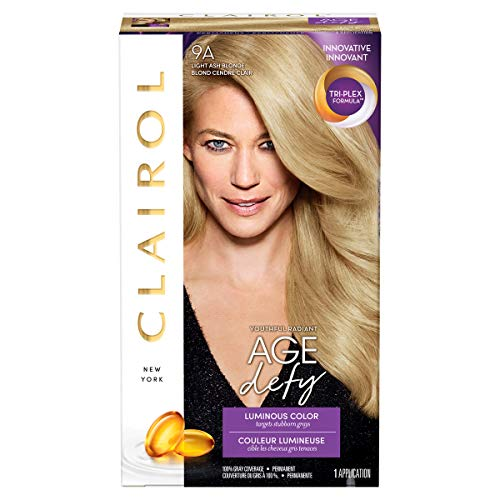 Light Ash Blonde - Clairol Age Defy Hair Coloring Tools, 9a Light Ash Blonde