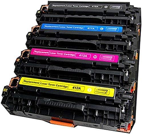 Suitable for Hpcf410a Color Compatible Toner Cartridge Hp M452nw M477fdw M452dw M452dn Printer Toner Cartridge 4 Colors