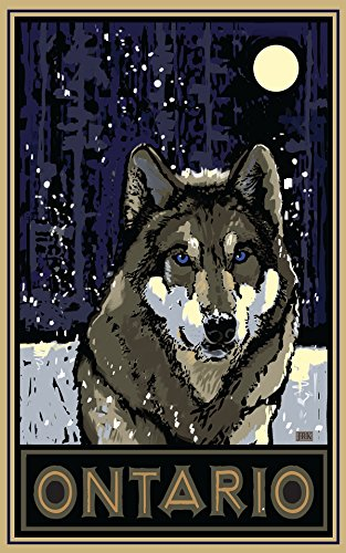 ontario-timberwolf-travel-art-poster-by-artist-18x24-art-print-for-bedroom-living-room-kitchen-famil