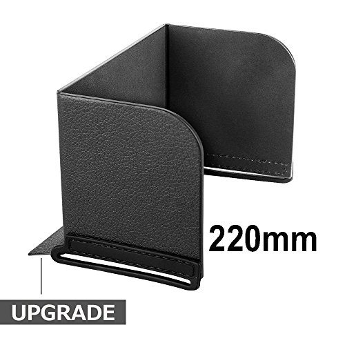 Monitor Sun Hood Sunshade Compatible for Phones iPads Tablets on Remote Controller for DJI Spark/Mavic/Phantom/Inspire/OSMO (N.ORANIE, Upgraded Version) (220mm)