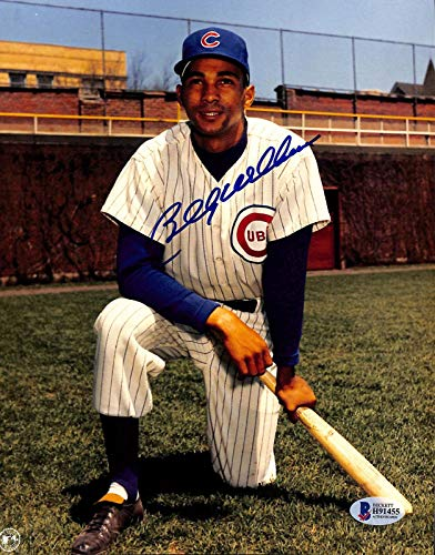Billy Williams Autographed Picture - 8x10 BAS 7 - Beckett Authentication - Autographed MLB Photos
