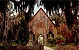 The Church Of The Cross Bluffton Beaufort Country, South Carolina Original Vintage Postcard