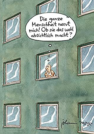 Postkarte A6 78904 Die Menschheit Nervt Von Inkognito Kunstler Inkognito Satire Cartoons Amazon De Burobedarf Schreibwaren