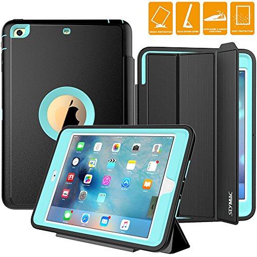 Smart Cover Case for Apple iPad Mini 2 (Black) - 5