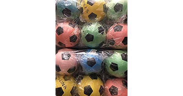 7facb307b3 Bola De Vinil Dente De Leite Coloridas (Kit Com 10 Unidades).   Amazon.com.br  Esportes e Aventura