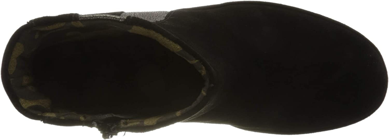 Fly London Women's Yulu252fly Ankle Boot Black Pewter